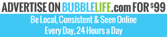 Advertise on BubbleLife.com for $99